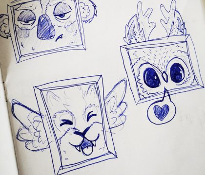 dessin-cadre-animaux